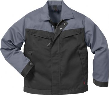Fristads Icon Jacket 4857 Luxe 109321 (Black/Grey)